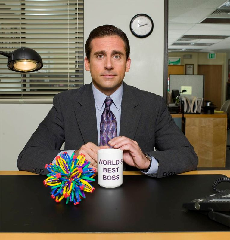 """Michael Scott, o sensacional chefe de """"The Office"""""""